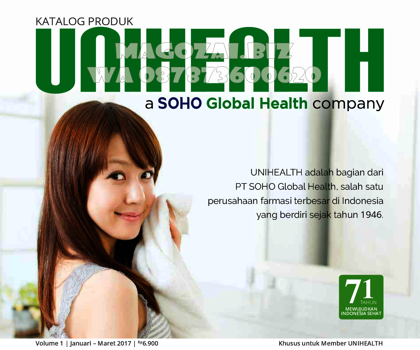 katalog 2017 Unihealth Magozai SOHO – Order Now