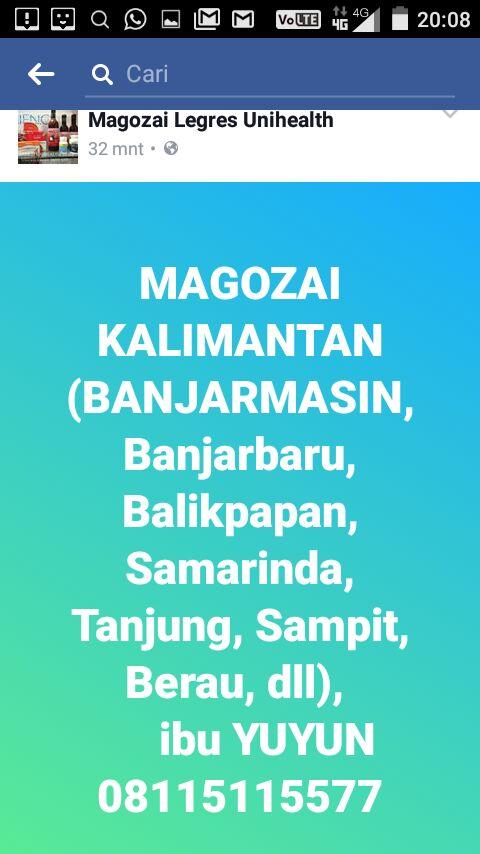 beli Magozai Kalimantan Banjarmasin Samarinda Balikpapan – 08115115577 bunda YUYUN