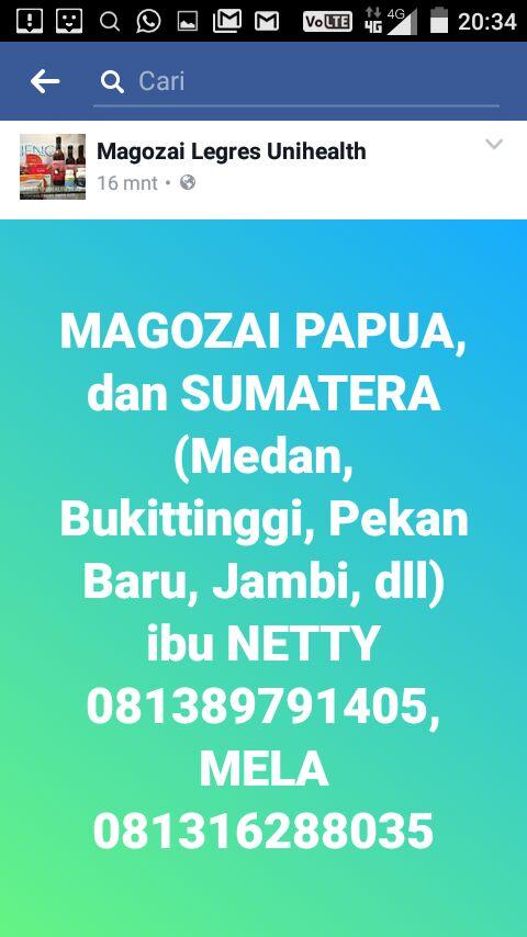 magozai papua dan SUMATERA – NETTY 087880308884 MELA 081316288035 unihealth magozai legres soho farmasi
