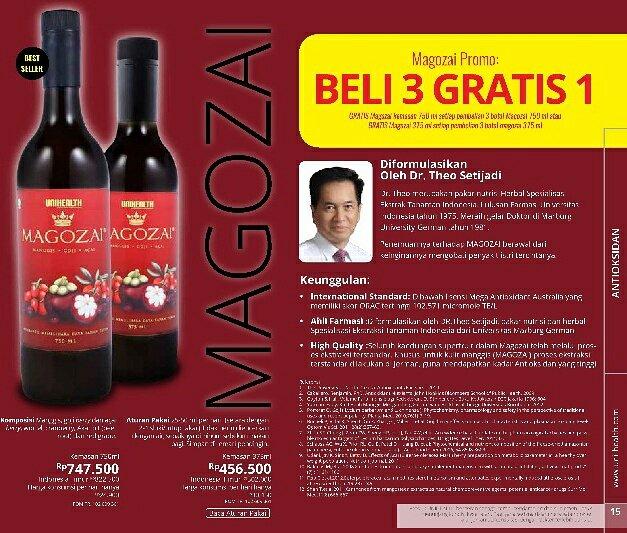 Magozai Pangkalan Bun YUYUN 08115115577 Magozai toko agen distributor jual obat herbal Soho Farmasi